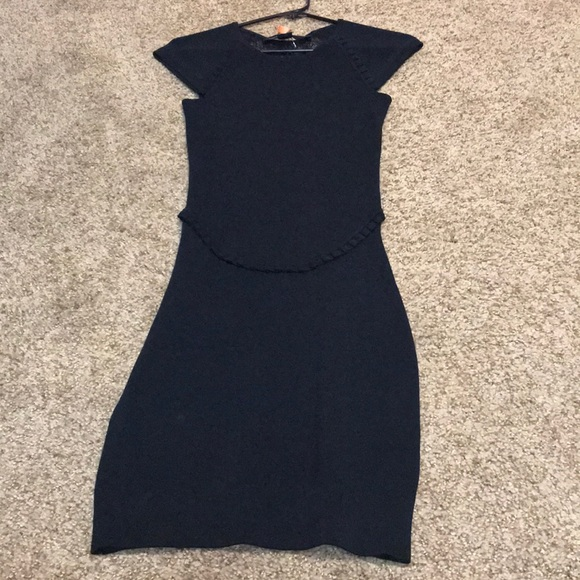 French Connection Dresses & Skirts - Gorgeous French Connection Black Body Con Dress